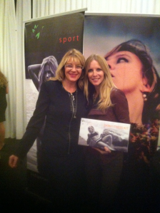 Lisa Walsh with Young & Restless actress Lauralee Bell
