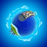 bigstock-Mini-planet-concept-Impressiv-33280229
